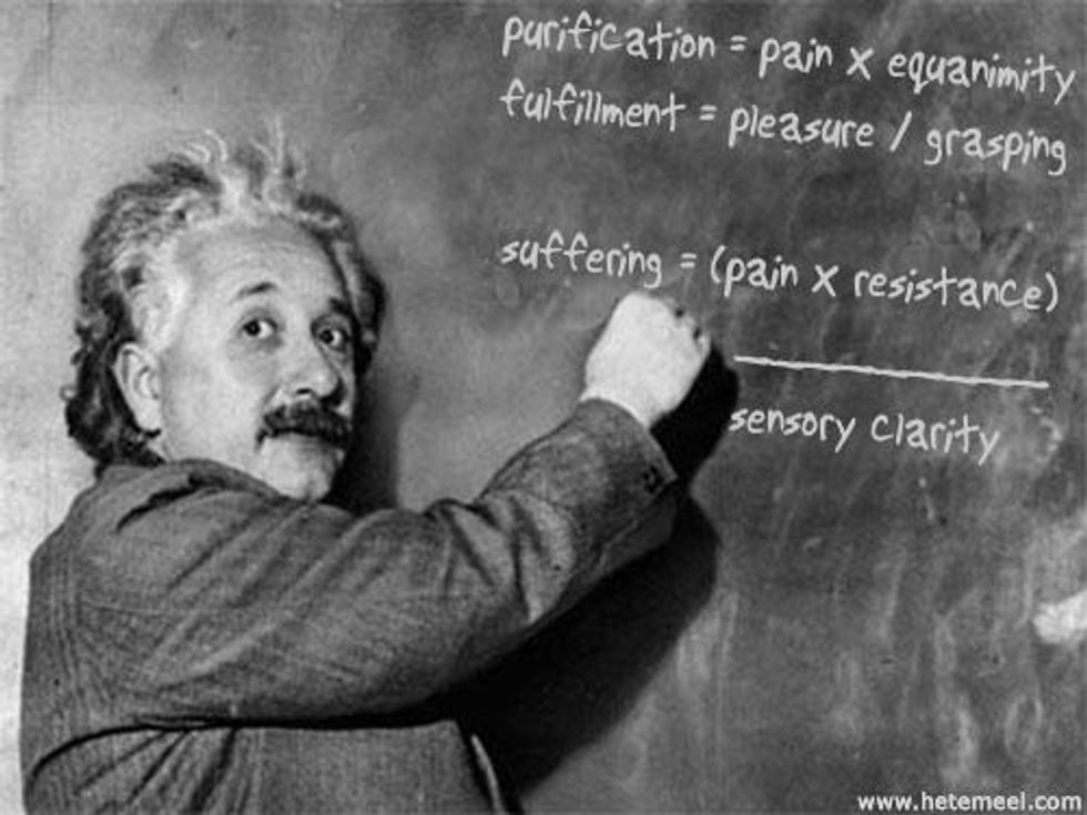 You Are Not an Equation