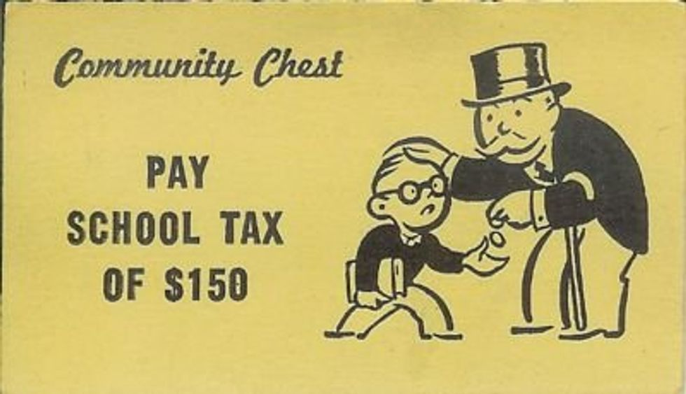 Will Education become a Monopoly Game?