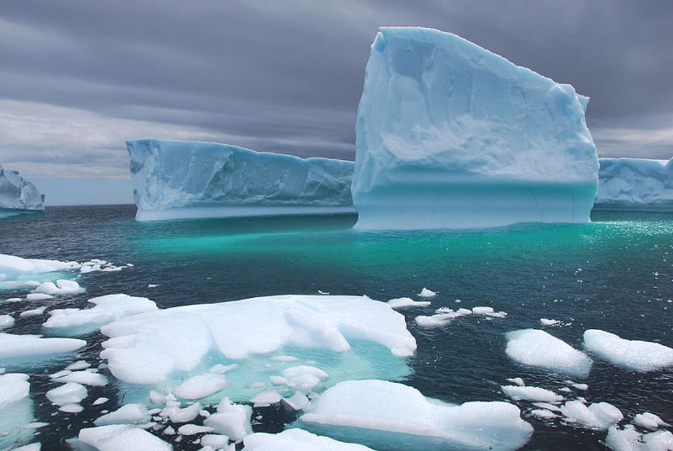 Towing Icebergs for Drinking Water