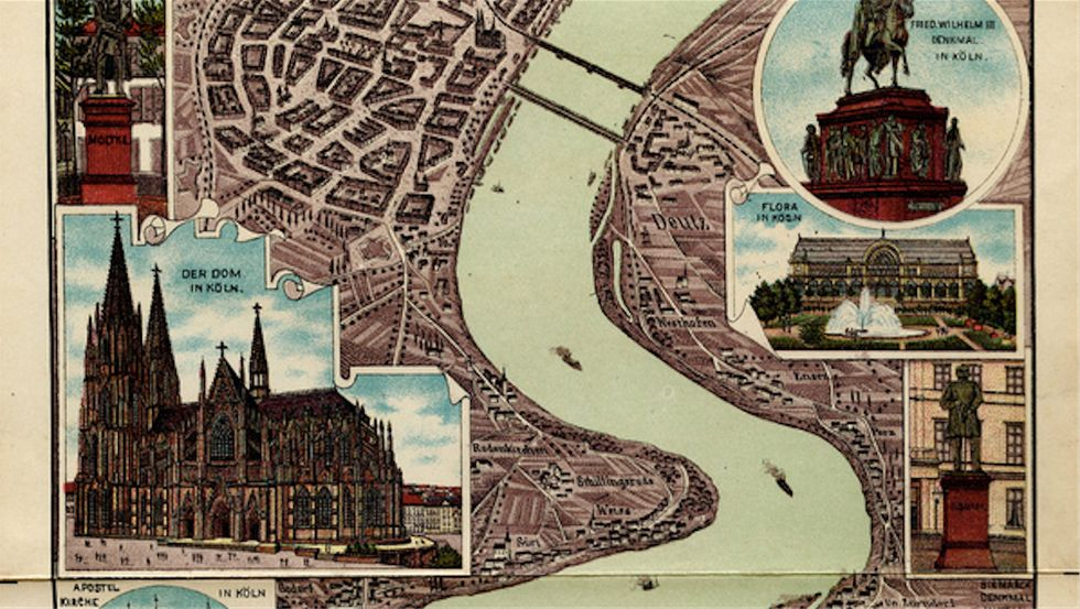 Down the Rhine and Back in Time: A Map from Tourism's Younger Days
