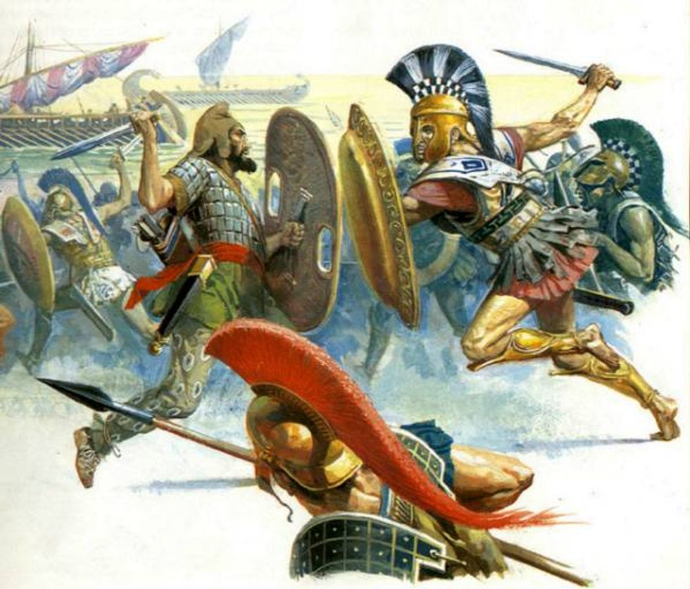Reflections on the Rise and Fall of Empires