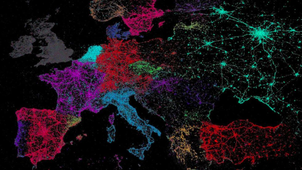 Vive le tweet! A Map of Twitter's Languages