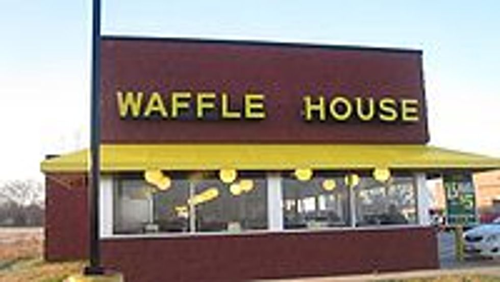 Scattered, Smothered, and Covered at the WAFFLE HOUSE