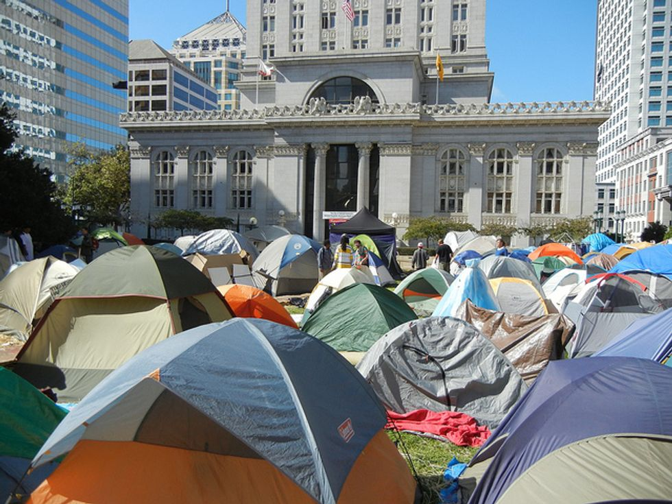 The Occupy Movement's Enthusiasm and Contempt for Democracy