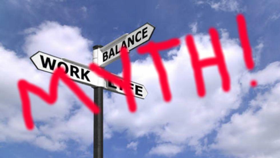The Myth of the Work-Life Balance