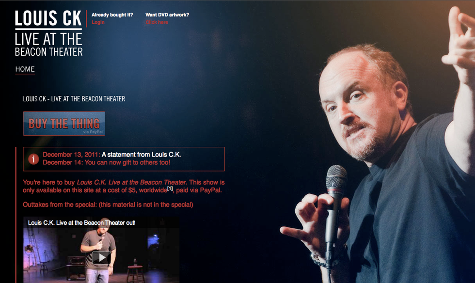 For Louis CK, the Future of Content is No Laughing Matter