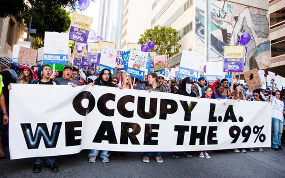 Journalists Overlook Ideological Diversity of Occupy Protest Movement