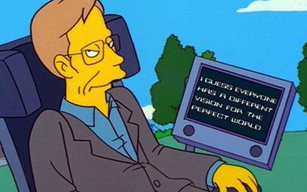 The Media-Making of Stephen Hawking