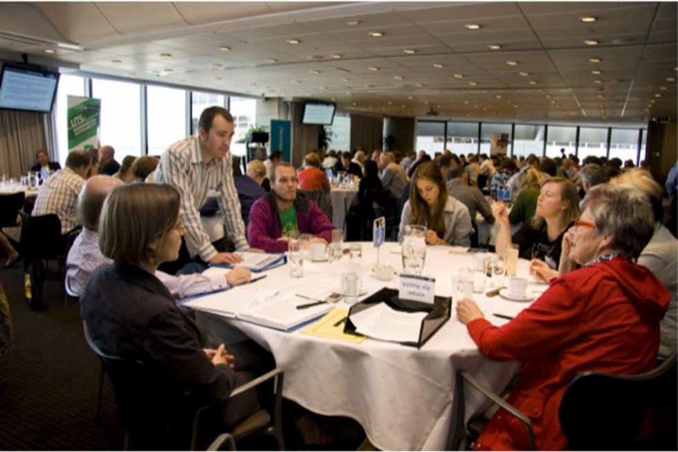 Field Notes from a Summit on Climate Change Communication