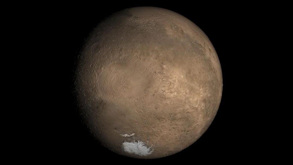 Slooh La La: Watch Mars Up Close Tonight