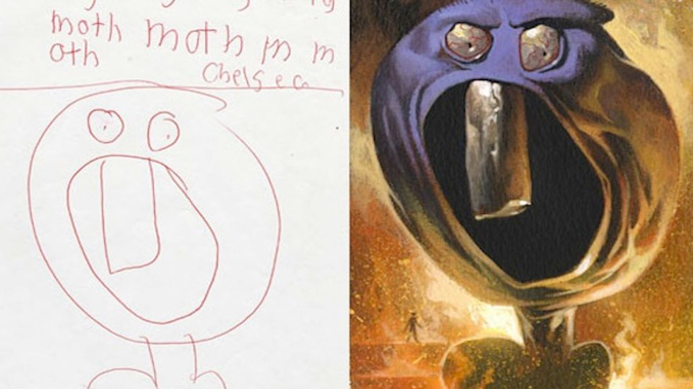 Killing Creativity: Why Kids Draw Pictures of Monsters & Adults Don't