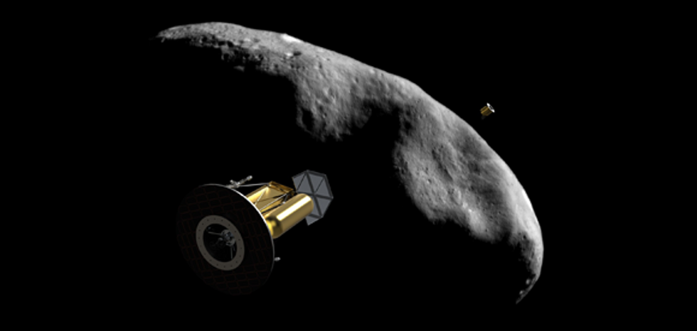 The Business of Mining Asteroids