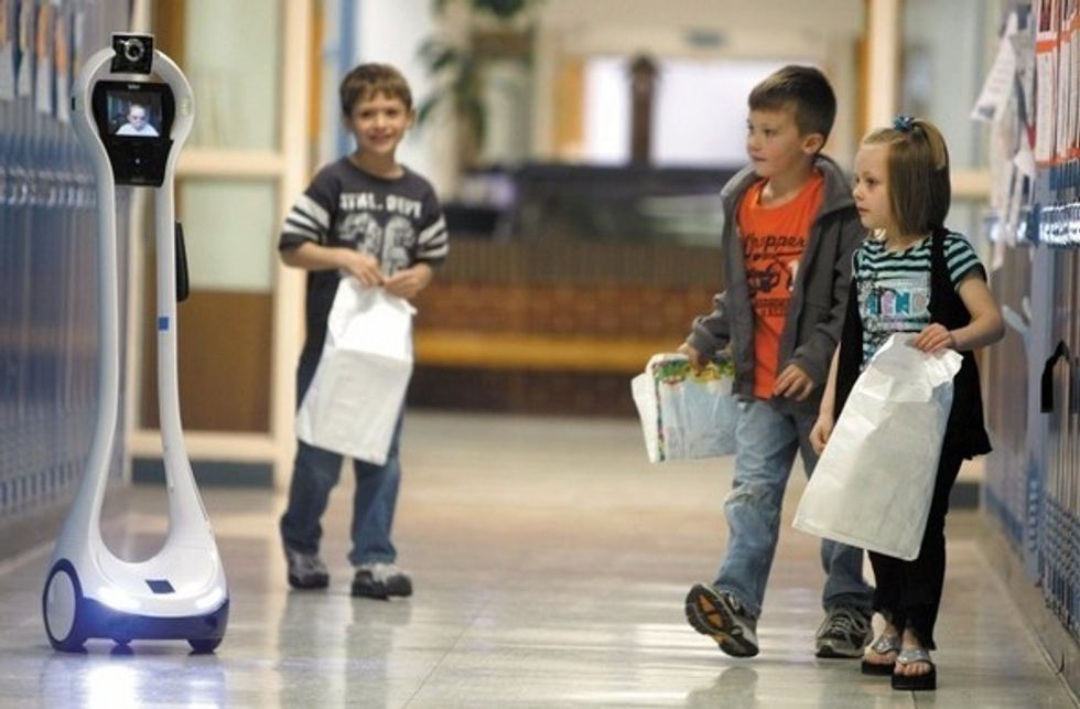 Robots in the Hallway