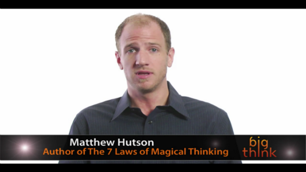 How Irrational Beliefs Keep Us Happy, Healthy, and Sane: Matthew Hutson LIVE on Big Think