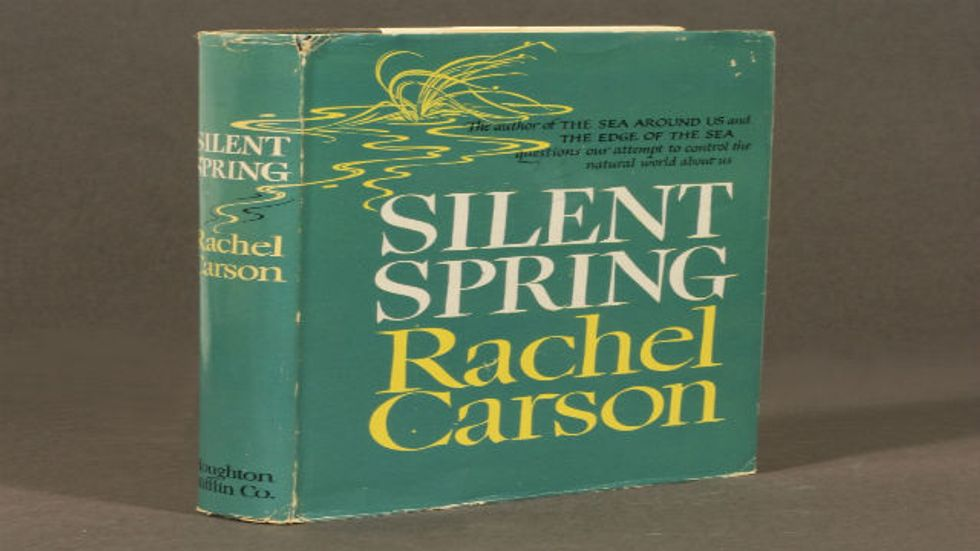 'Silent Spring' is 50. The Credit, and the Blame, It Deserves.