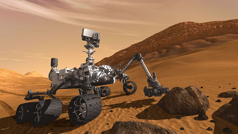 Mars Rover to Use New Techniques in Search for Alien Life