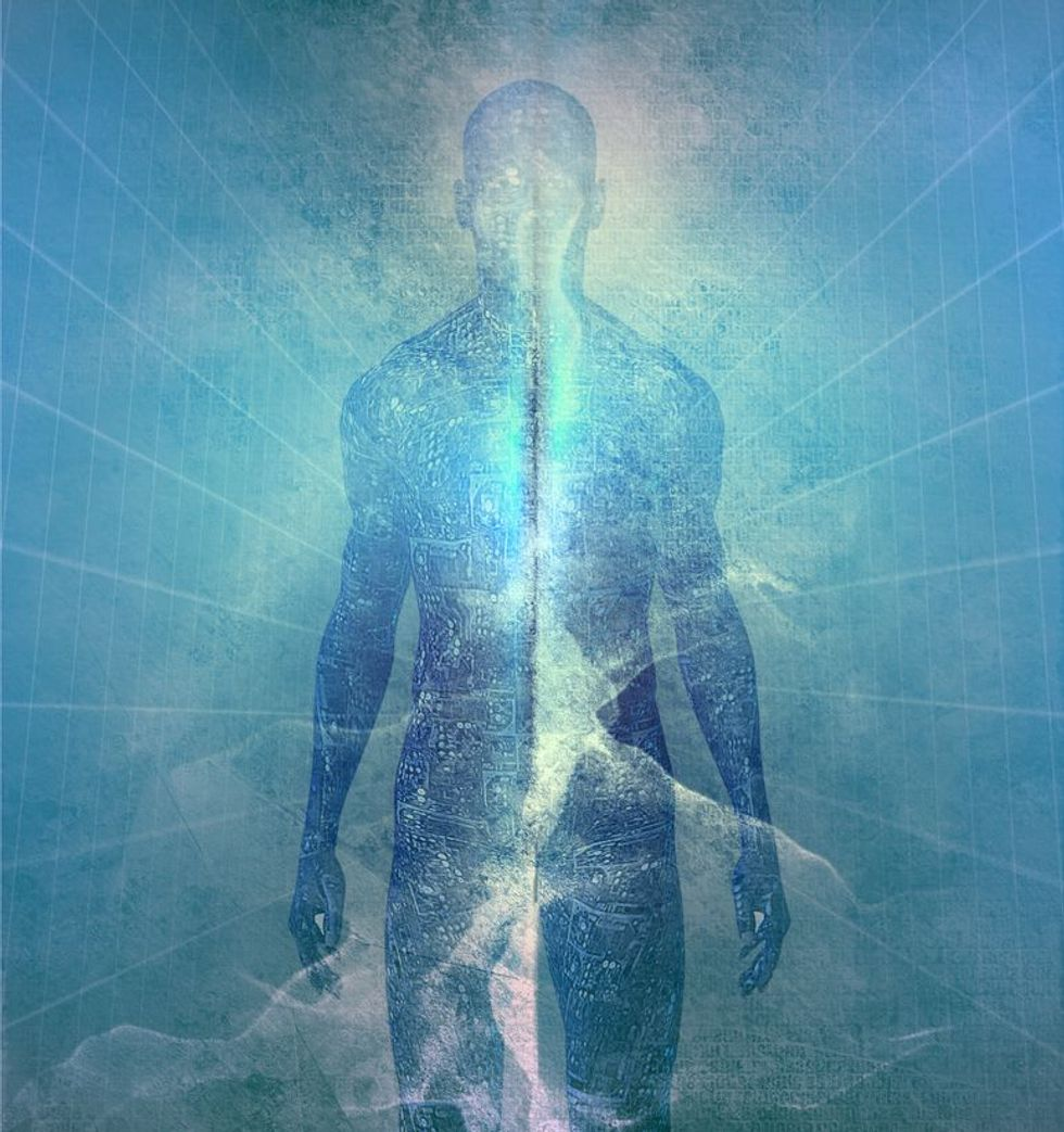 Is Your Soul an Information Field in Another Dimension?