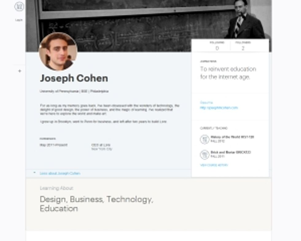 Learning Profiles - a LinkedIn Killer in the Making?
