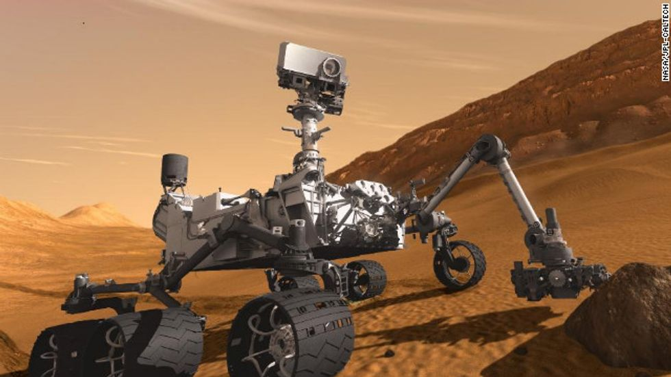 NASA Goes for the Gold with Curiosity