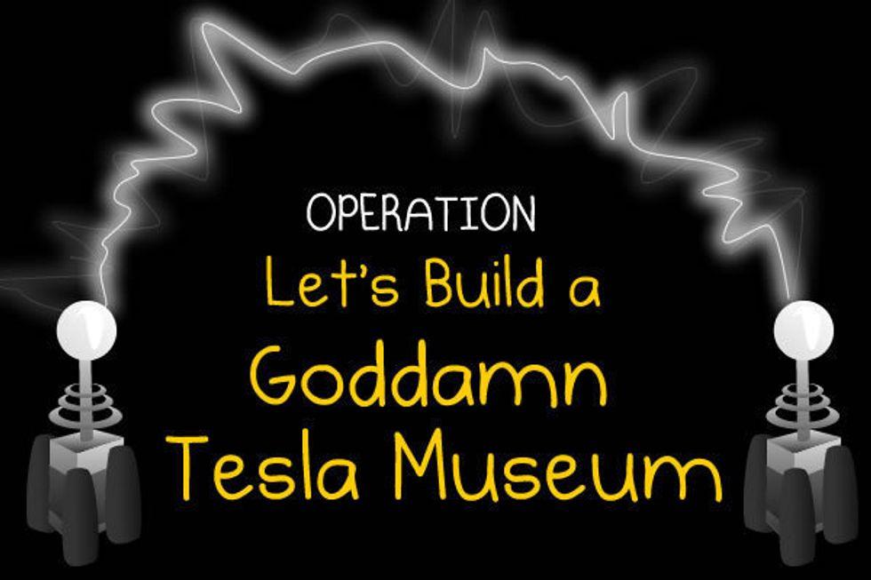 The Internet builds a Goddamn Tesla Museum