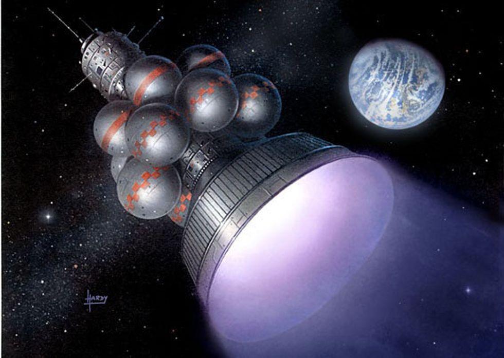 Dreams of NewSpace: Interstellar Flight in 100 Years