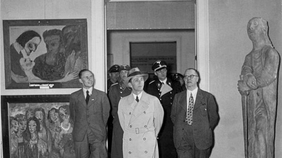 Did the Nazis Inadvertently Globalize Modern Art?