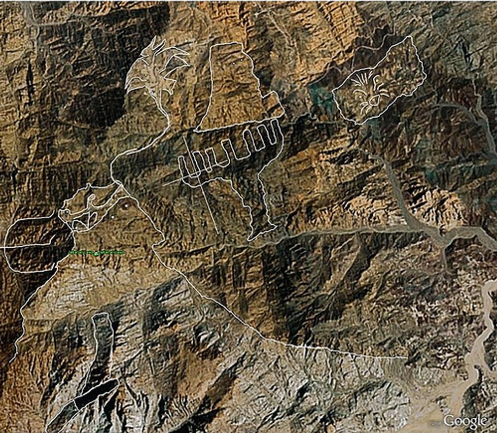 A Map of Jesus, Etched in Arabian Rock