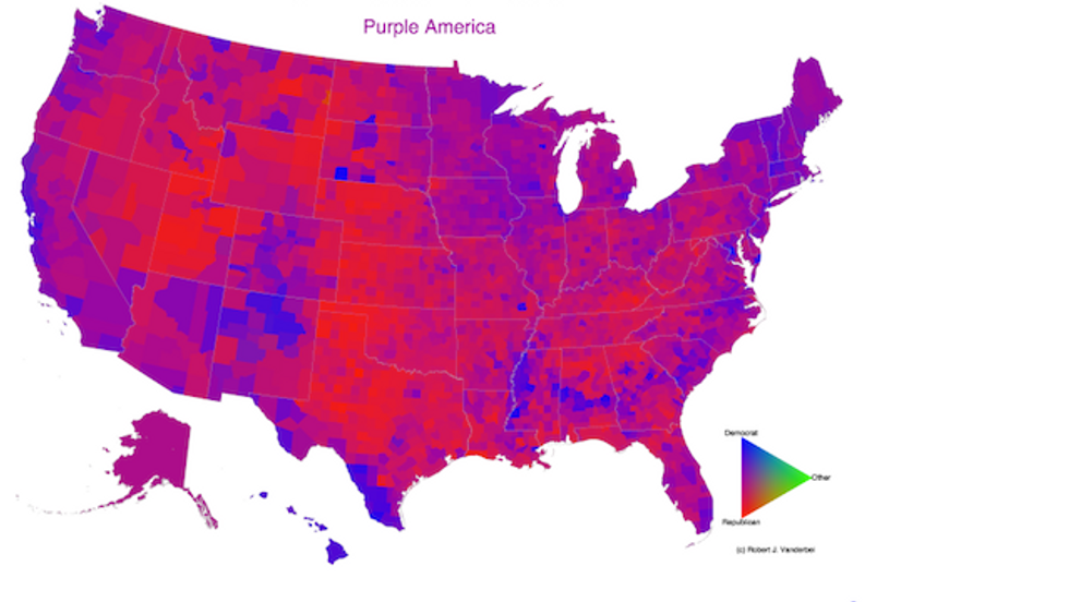 America the Purple