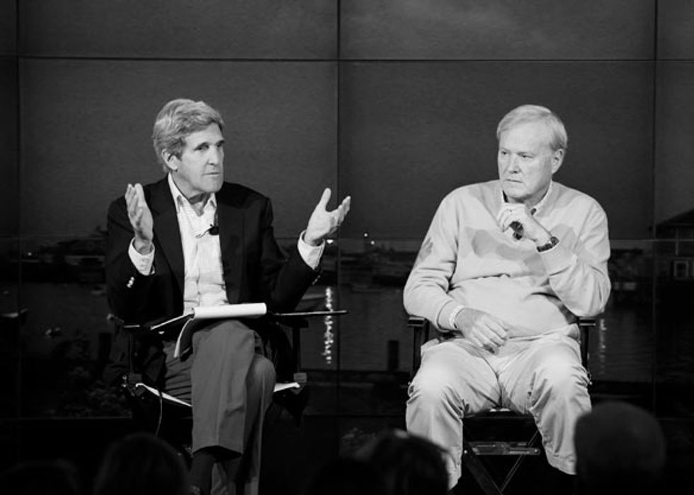 John Kerry: The Winds of War Are Blowing