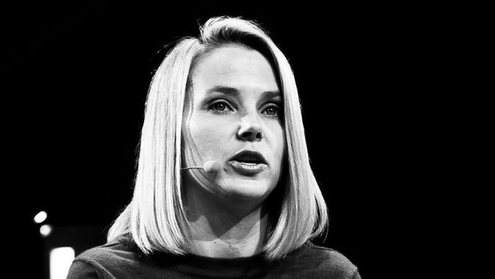 Marissa Mayer's Guide to Being Productive: It's About Data, Not Politics