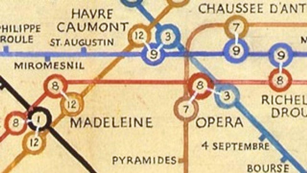 603 - When Harry Met Paris: Beck's Métro Map