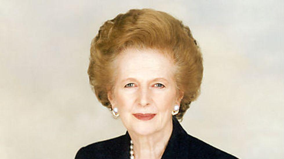Margaret Thatcher's Big Idea: Don't Thumb Your Nose at Success