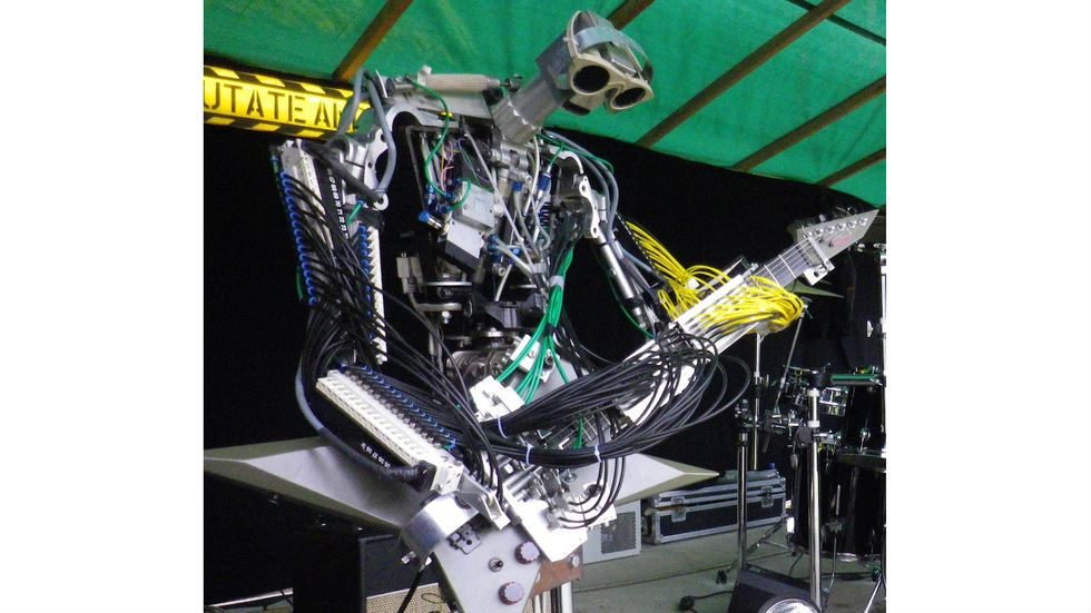 Raging Machines: Compressorhead, the First Robot Rock Band