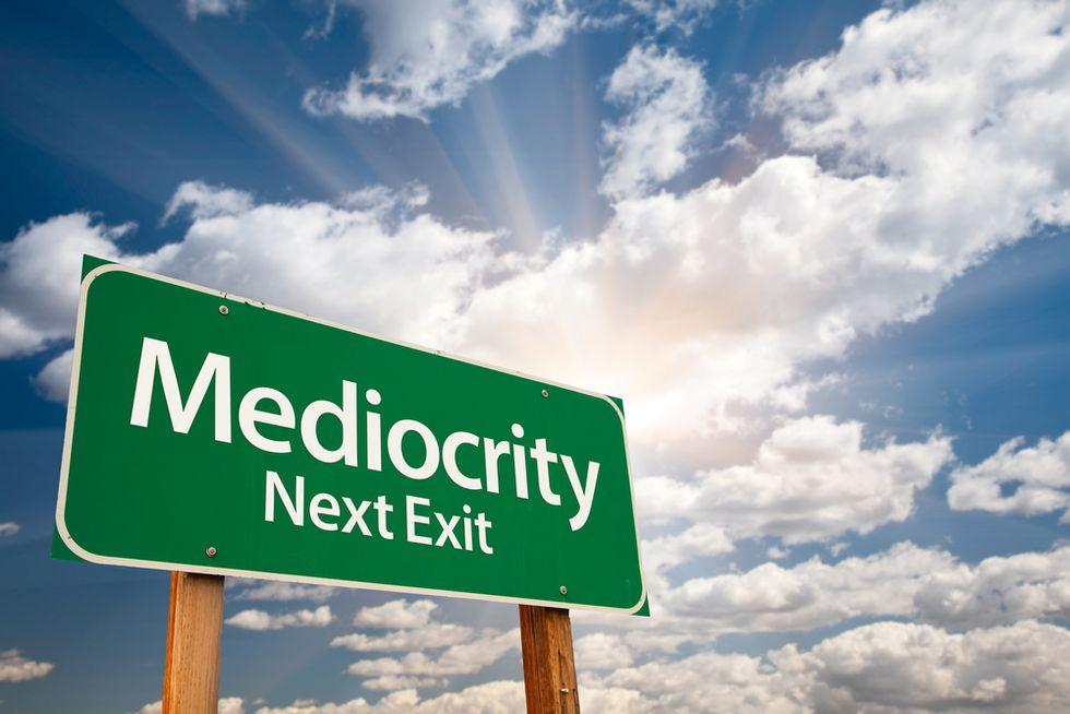 How Technology Kills Mediocrity