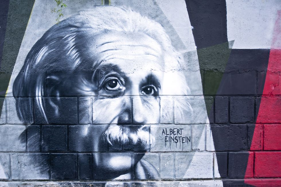 Einstein's Double Edged Sword
