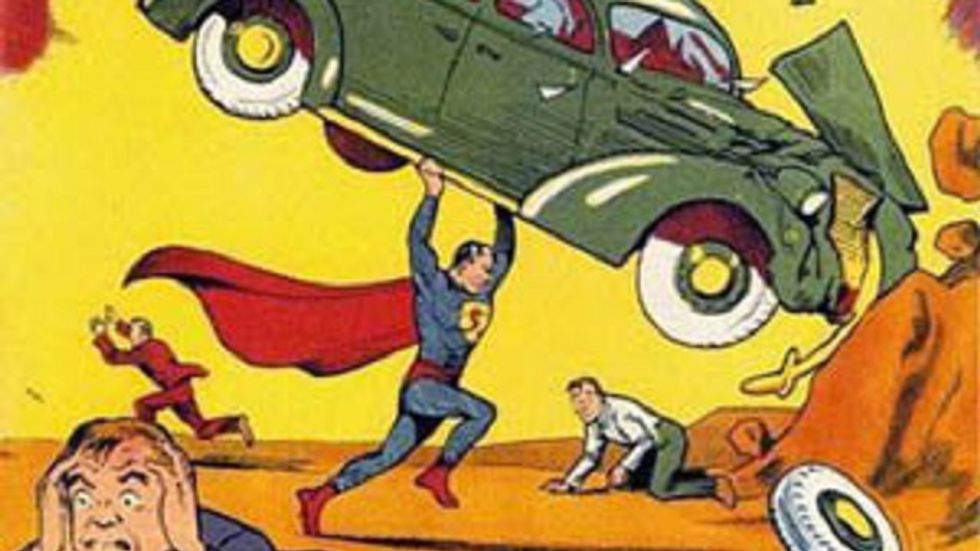 Superman and the Case of the Wronged Artists