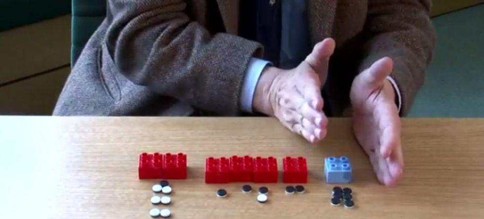 Hans Rosling Illustrates Future Energy Consumption with Legos