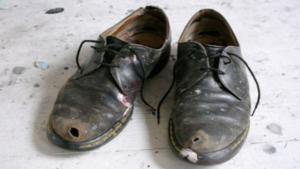 What to do With an Old Pair of Shoes?