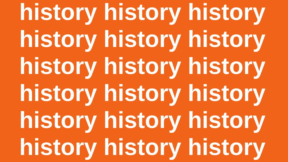 """""""Those Who Do Not Learn History Are Doomed To Repeat It."""" Really?"""