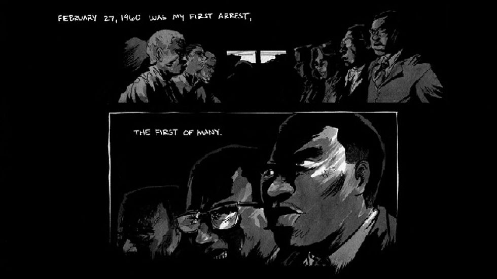 John Lewis and Civil Rights March on in a New Graphic Novel