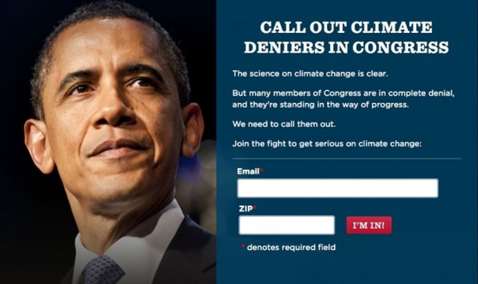 Greenwire on Obama's Strategy to Morally Stigmatize Conservatives Who Dismiss Climate Change