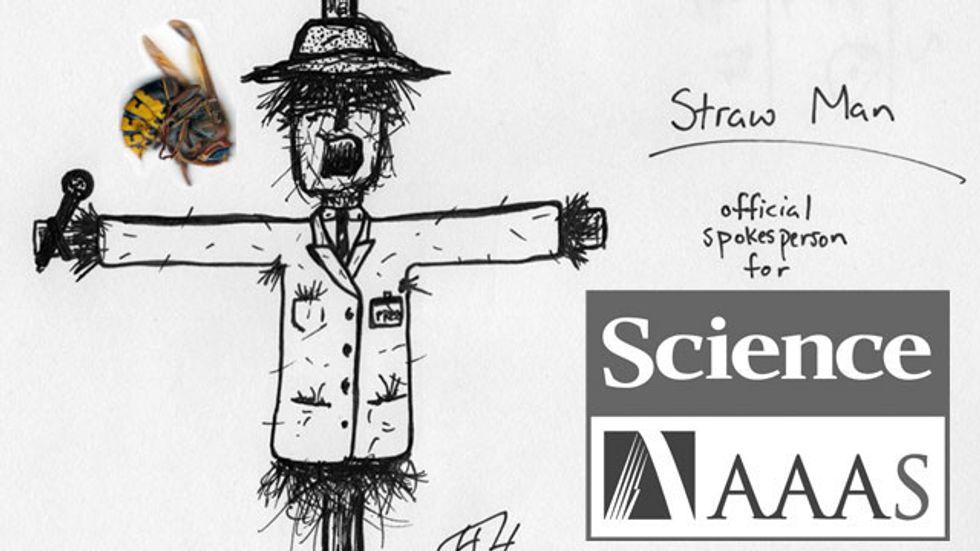 Science's Straw Man Sting