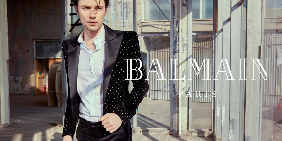 James Bay Creates a Balmain Beat