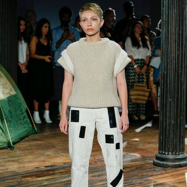 Tavi Gevinson Modeled at CDLM's NYFW Show
