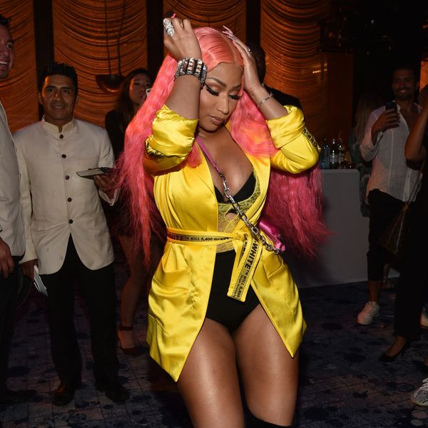 Nicki Minaj Kicked Off NYFW By Dancing to Her Own Song