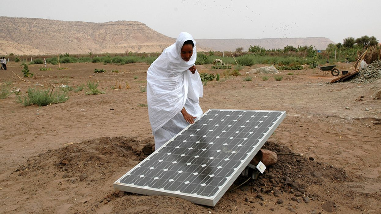 Sahara Wind and Solar Farms Could Green the Desert in More Ways Than One