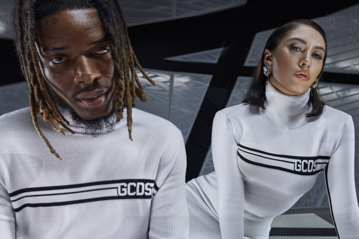 Kali Uchis and Fetty Wap Fly to the Future for GCDS