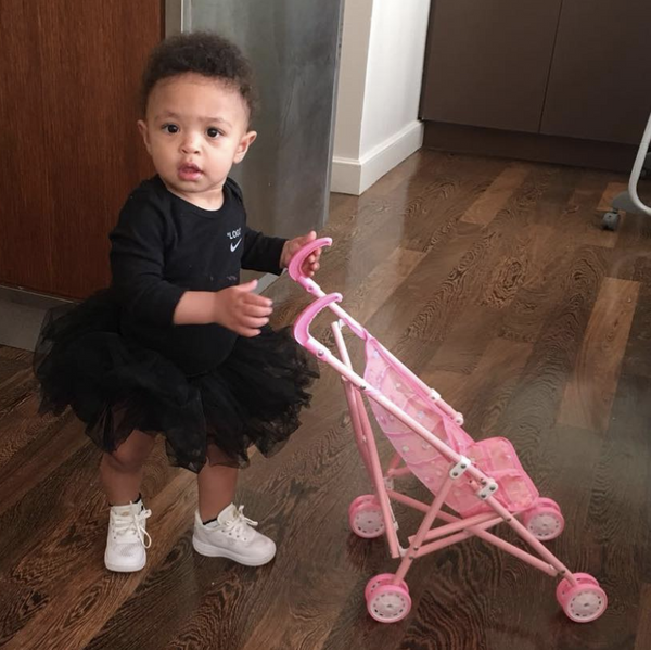 Serena Williams' Daughter Wears Virgil Abloh Too