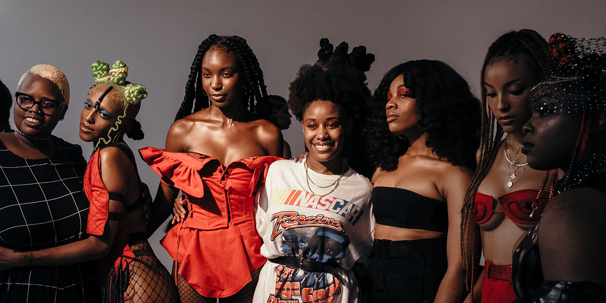 Shanel Campbell On Her Pro-Black Debut NYFW Show