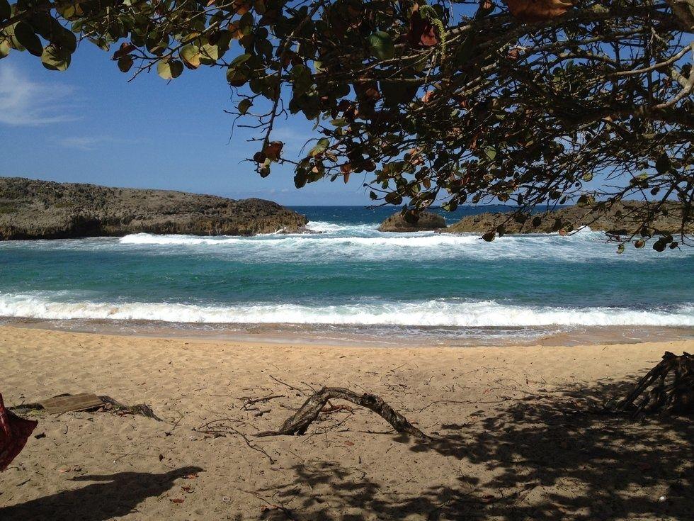 A beach in Puerto Rico (2012)